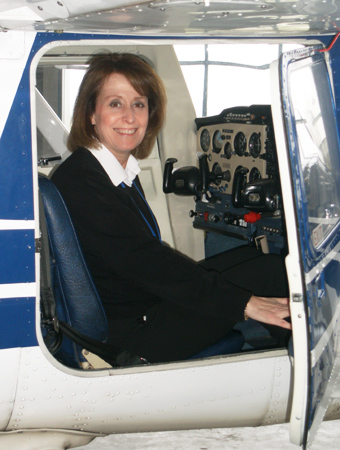 Kathryn Williams - Owner and Chief Flying Instructor