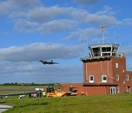 Vulcan over Gloucestershire Airport