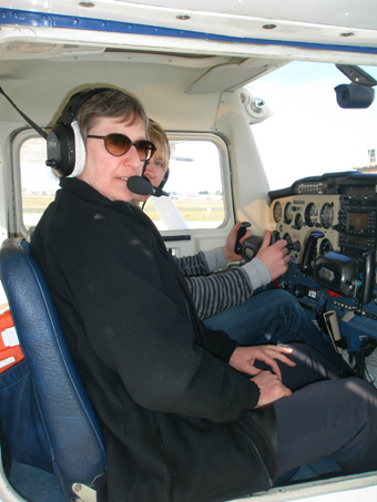 Jennie Lyons Flying Instructor