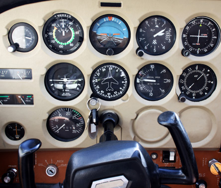 Radio Navigation for flying lessons