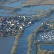 Upton in the floods